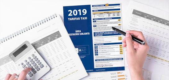 Tarifas Taxi